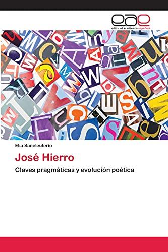 9783659055300: José Hierro