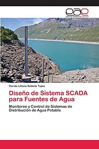 9783659056871: Diseño de Sistema SCADA para Fuentes de Agua: Monitoreo y Control de Sistemas de Distribución de Agua Potable (Spanish Edition)