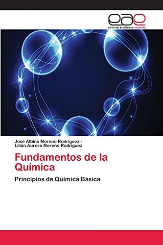 9783659057588: Fundamentos de La Quimica