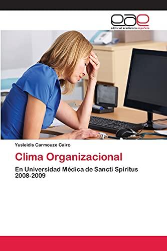 9783659060687: Clima Organizacional