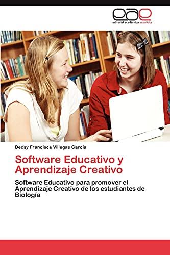 9783659064289: Software Educativo y Aprendizaje Creativo