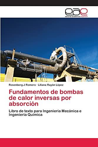 9783659065354: Fundamentos de Bombas de Calor Inversas Por Absorcion