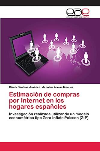 9783659066573: Estimacion de Compras Por Internet En Los Hogares Espanoles