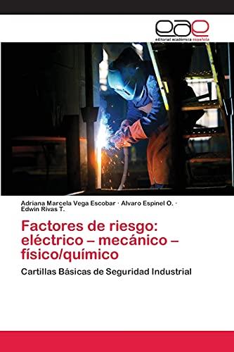 9783659066696: Factores de riesgo: eléctrico - mecánico - físico/químico: Cartillas Básicas de Seguridad Industrial (Spanish Edition)