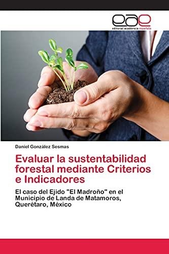 9783659070648: Evaluar la sustentabilidad forestal mediante Criterios e Indicadores: El caso del Ejido