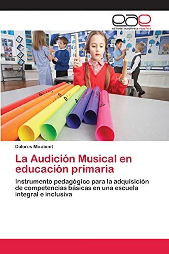 9783659071546: La Audicion Musical En Educacion Primaria