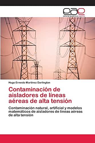 9783659072987: Contaminación de aisladores de líneas aéreas de alta tensión: Contaminación natural, artificial y modelos matemáticos de aisladores de líneas aéreas de alta tensión (Spanish Edition)