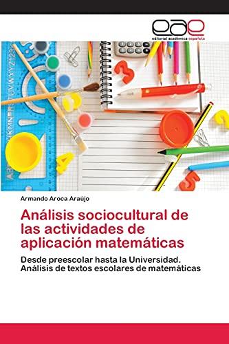 Analisis Sociocultural de Las Actividades de Aplicacion: Aroca Araujo Armando