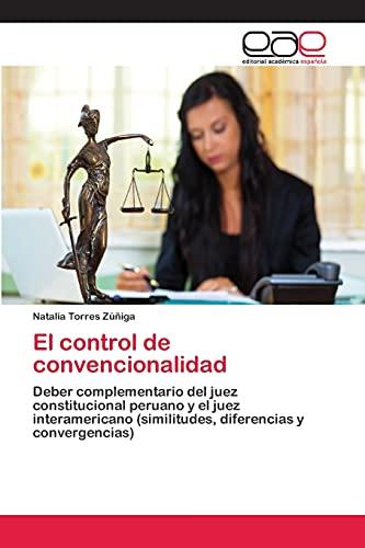 9783659078309: El Control de Convencionalidad