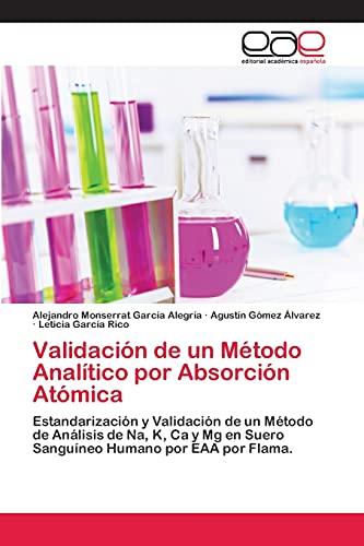 Validacion de Un Metodo Analitico Por Absorcion Atomica: AgustÃn Gà mez Ã�lvarez