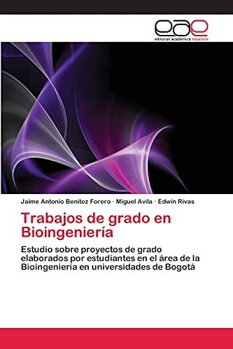 9783659081064: Trabajos de Grado En Bioingenieria