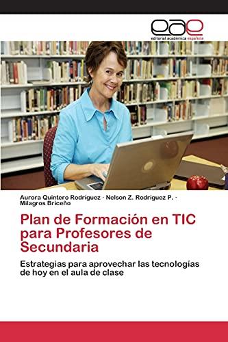 Plan de Formación en TIC para Profesores: Aurora Quintero Rodríguez