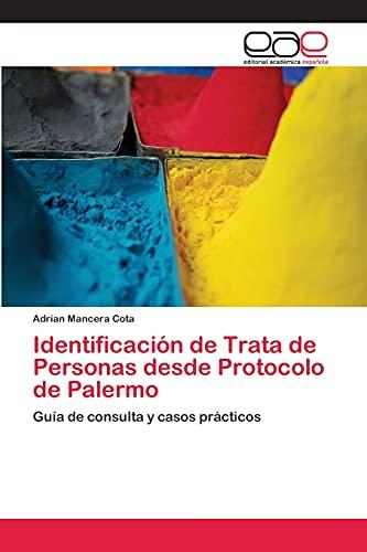 9783659083532: Identificacion de Trata de Personas Desde Protocolo de Palermo