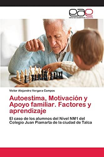 9783659084492: Autoestima, Motivacion y Apoyo Familiar. Factores y Aprendizaje