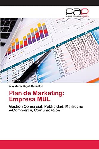 Plan de Marketing: Empresa Mbl: Ana MarÃa Gayol González