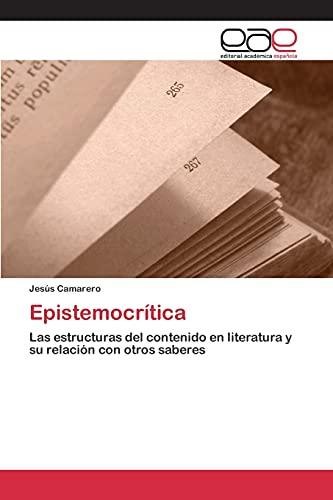 9783659098666: Epistemocrítica