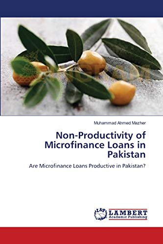 Non-Productivity of Microfinance Loans in Pakistan: Muhammad Ahmed Mazher