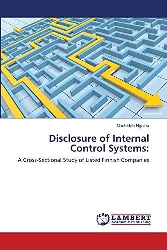 Disclosure of Internal Control Systems: Nachidah Ngaleu