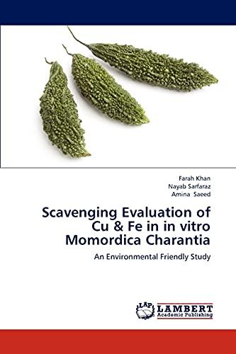 Scavenging Evaluation of Cu & Fe in: Farah Khan, Nayab