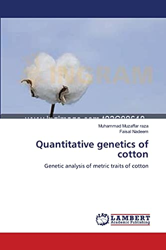 Quantitative Genetics of Cotton: Muhammad Muzaffar raza