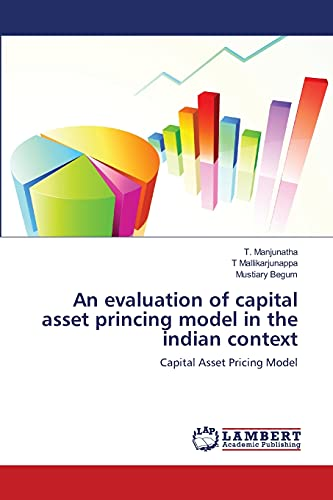 9783659116131: An evaluation of capital asset princing model in the indian context: Capital Asset Pricing Model