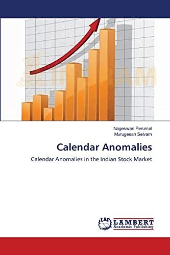 Calendar Anomalies: Murugesan Selvam