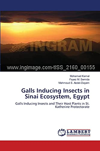 Galls Inducing Insects in Sinai Ecosystem, Egypt: Mohamed Kamel