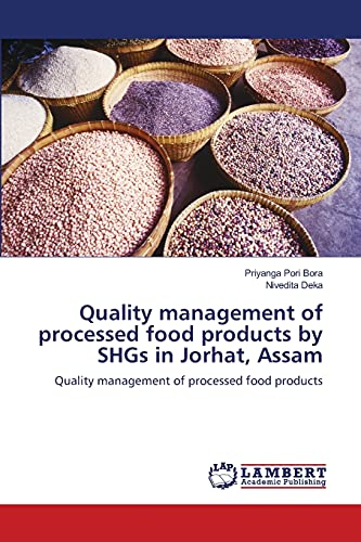 Quality Management of Processed Food Products by: Priyanga Pori Bora