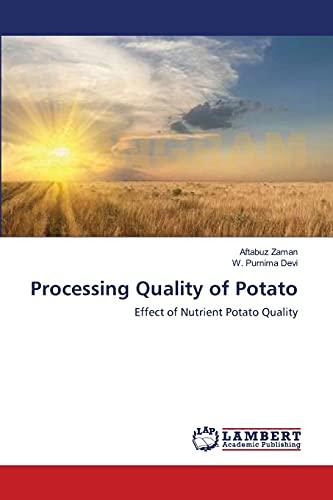 Processing Quality of Potato: Aftabuz Zaman