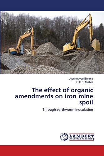 The effect of organic amendments on iron: Jyotirmayee Behera, C.S.K.