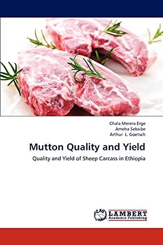Mutton Quality and Yield: Chala Merera Erge