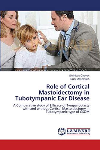 Role of Cortical Mastoidectomy in Tubotympanic Ear Disease: Shrinivas Chavan