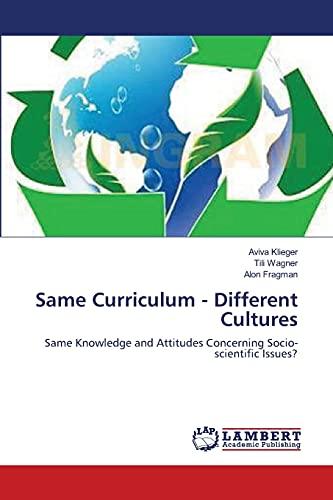 Same Curriculum - Different Cultures: Aviva Klieger