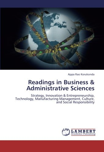Readings in Business & Administrative Sciences: Korukonda, Appa Rao
