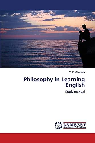 Philosophy in Learning English: V. G. Shabaev