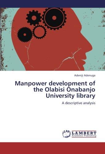 Manpower development of the Olabisi Onabanjo University: Adenuga, Adeniji