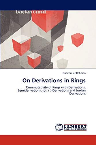 On Derivations in Rings: Nadeem ur Rehman