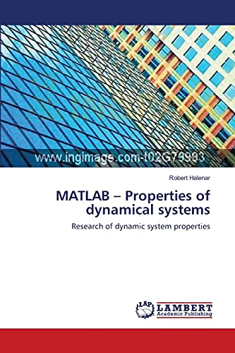9783659180828: MATLAB – Properties of dynamical systems: Research of dynamic system properties