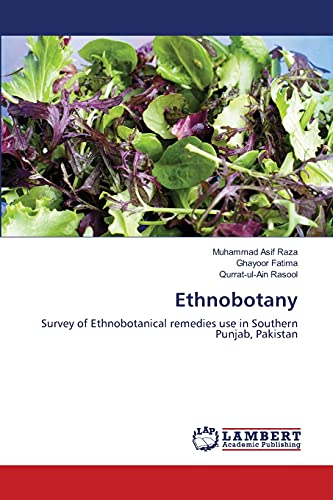 9783659190742: Ethnobotany: Survey of Ethnobotanical remedies use in Southern Punjab, Pakistan