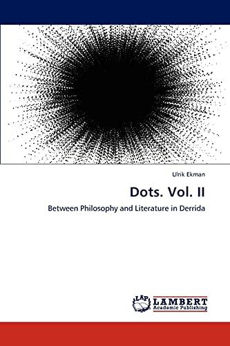 Dots. Vol. II: Ulrik Ekman