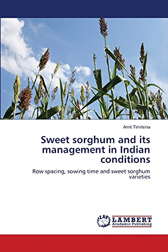 9783659193637: Sweet sorghum and its management in Indian conditions: Row spacing, sowing time and sweet sorghum varieties