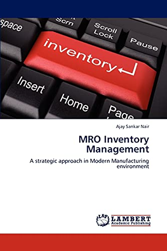 Mro Inventory Management: Ajay Sankar Nair