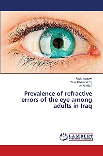 9783659199554: Prevalence of refractive errors of the eye among adults in Iraq