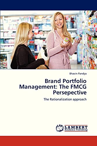 9783659206603: Brand Portfolio Management: The FMCG Persepective: The Rationalization approach