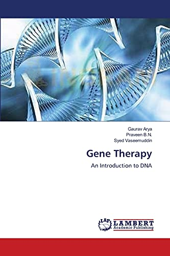 9783659210174: Gene Therapy: An Introduction to DNA