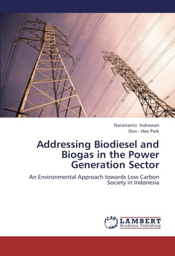 9783659216091: Addressing Biodiesel and Biogas in the Power Generation Sector: An Environmental Approach towards Low Carbon Society in Indonesia