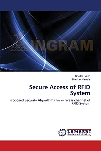 Secure Access of Rfid System: Shankar Nawale