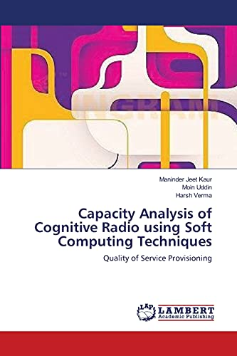 Capacity Analysis of Cognitive Radio Using Soft: Maninder Jeet Kaur