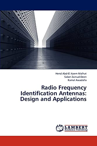 9783659232831: Radio Frequency Identification Antennas: Design and Applications