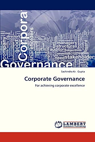 9783659234576: Corporate Governance: For achieving corporate excellence